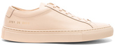 Common Projects Leather Original Achilles Low in Neutrals.