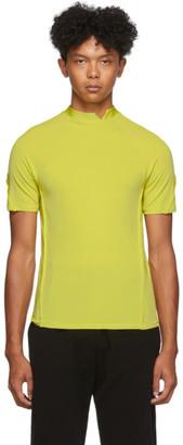 Spencer Badu Yellow Mock Neck T-Shirt