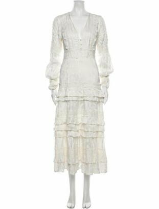 Alexis 2019 Long Dress White