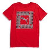 Puma Boys Logo Graphic Tee