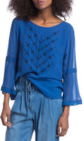 Plenty by Tracy Reese Bell Sleeve Blouse
