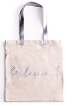 Rosanna 'Bridesmaid' Canvas Tote - White