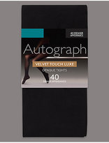 Autograph 40 Denier Luxury Velvet Touch Opaque Tights