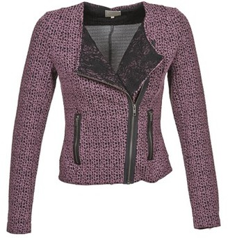 Cream LINEA JACKET women's Jacket in Red