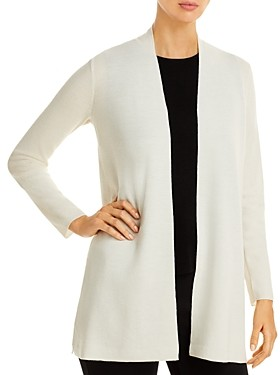 Eileen Fisher Long Open Front Cardigan