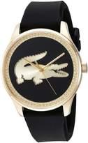 Lacoste Women's 'VICTORIA' Quartz Gold-Tone and Leather Casual Watch, Color: (Model: 2000968)