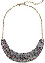 Alexis Bittar Crescent Bib Necklace Necklace