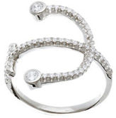 Lord & Taylor Cubic Zirconia Anchor Ring