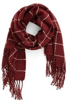 BP Women's Stitched Grid Scarf