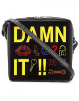 Yazbukey Damn It! shoulder bag