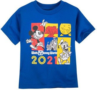 Disney Mickey Mouse and Donald Duck T-Shirt for Toddlers Walt World 2021