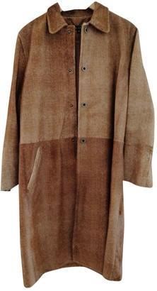 Ralph Lauren Brown Fur Coat for Women