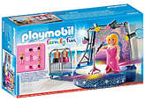 Playmobil Family Fun Singer With Stage