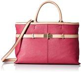 Tommy Hilfiger Belinda Leather Shopper Top Handle Bag