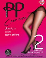 Pretty Polly Plus Size Gloss 2pp Tights