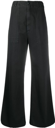 DEPARTMENT 5 High-Rise Wide-Leg Trousers