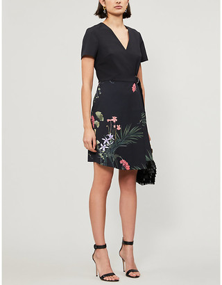 Ted Baker Highland crepe mini dress