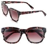 Derek Lam Women's 'Spring' 51Mm Sunglasses - Burgundy Marble