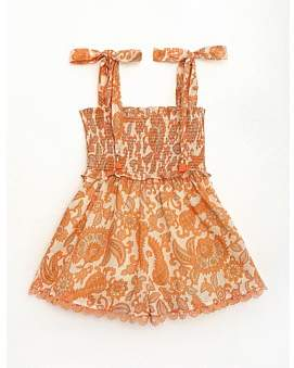 Zimmermann Peggy Shirred Playsuit (Girls 2-6)