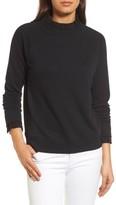 Women's Halogen Removable Collar Sweatshirt
