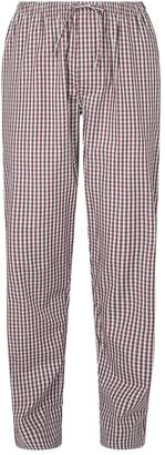 Zimmerli Cotton Check Pyjama Bottoms