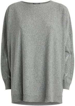 Harrods Ladder Detail Cashmere Sweater