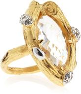 Indulgems Crystal Quartz Ring