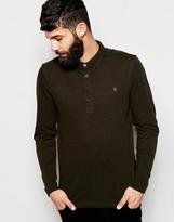 Farah Polo Shirt with Long Sleeves