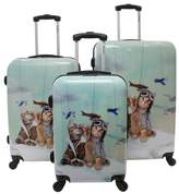 Toms Chariot Hardside 3-piece Luggage Set