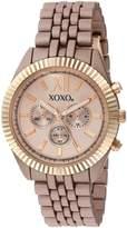 XOXO Women's Quartz Metal and Alloy Watch, Color:Rose Gold-Toned (Model: XO251)