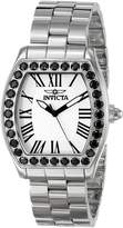 Invicta Women's 14107 Angel Analog Display Swiss Quartz Silver Watch