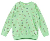Indikidual Green Jelly Bean Print Sweatshirt