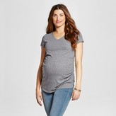 Liz Lange for Target Maternity Triblend V-Neck T-Shirt Gray - Liz Lange® for Target