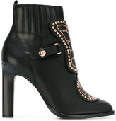 Sophia Webster 'Karina Butterfly' ankle boots - women - Leather/Metal (Other)/rubber - 39