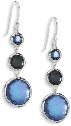 Ippolita Lollipop Lollitini Sterling Silver & Multi-Stone Triple-Drop Earrings