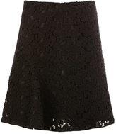Giambattista Valli lace pleated skirt - women - Cotton/Viscose/Polyester/Silk - 40