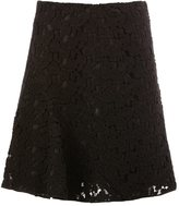 Giambattista Valli lace pleated skirt