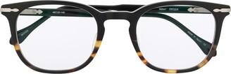 Matsuda M2047 square-frame glasses