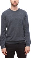Moon Cats MoonCats Men's 100% Cashmere Crew Neck Sweater soft solid long sleeve pullover