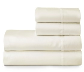 The Welhome Smooth Cotton Tencel Sateen Full Sheet Set Bedding