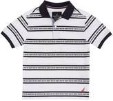 Nautica Little Boys' Signal Flag Striped Polo Shirt (2T-7)