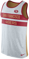 Nike Men's San Francisco 49ers Stripe Tri Tank