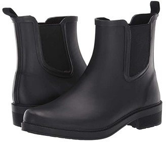 J.Crew Chelsea Rain Boot (Black) Women's Shoes