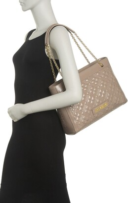 Love Moschino Borsa Quilted Dual Shoulder Tote