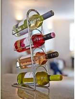 Hahn Pisa Metal Wine Rack, Chrome, 4 Bottle