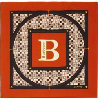 Burberry Archival Print Scarf