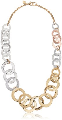 Sequin Womens Multi Link Chain Necklace