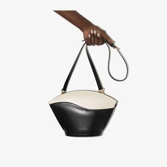 USISI SISTER black Sam leather cross body bag