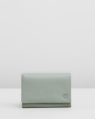 Stitch & Hide - Women's Green Bifold - Ellie Wallet - Size One Size at The Iconic