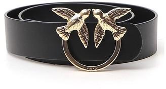 Pinko Love Birds Buckle Belt